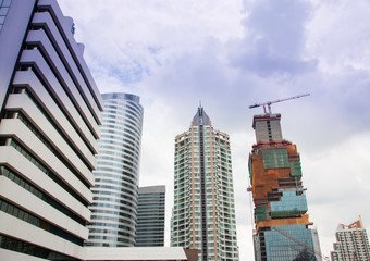 The building blocks in Bangkok