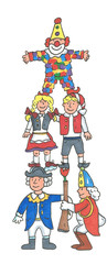 karneval,clown,Köln