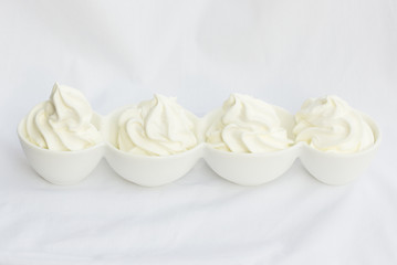 Schale Frozen Yogurt