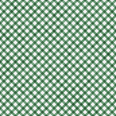 Dark Green Gingham Pattern Repeat Background