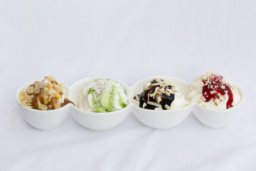 Frozen Joghurt gemsicht