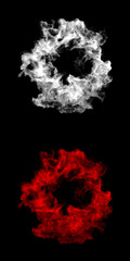 Abstract Smoke Cloud with Transparency Channel