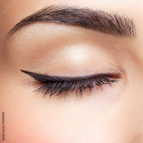 canvas print picture eye zone makeup