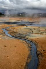 Magma. Iceland