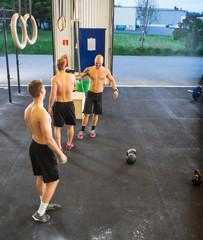 Athletes At Cross Training Gym