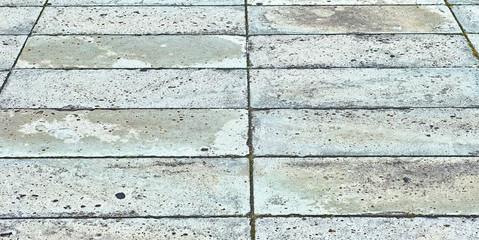 歩道のブロック