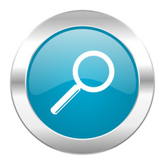search internet blue icon