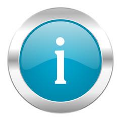 information internet blue icon