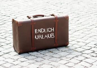 Endlich Urlaub - Koffer