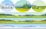 Fototapety Seamless Landscape