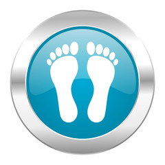 foot internet icon