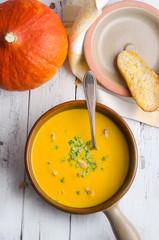 kürnis, kürbissuppe, suppe