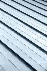 Diagonal strip grey roof top