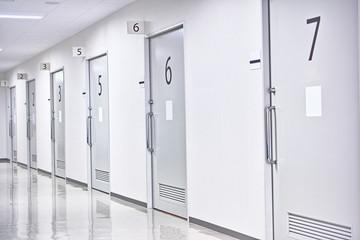 番号順の部屋