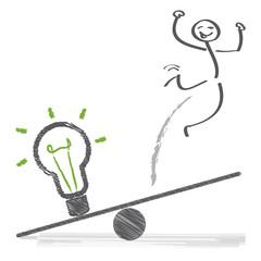 Idee und Erfolg