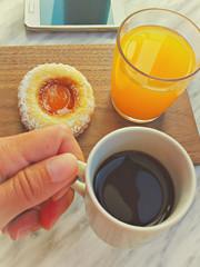 A colazione!
