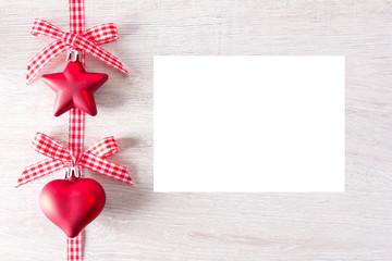 Stern Herz rot Schild weiß