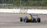 Formel Rennwagen Heck
