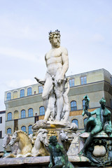 Fountain of Neptune, Florence, Italy - Tuscany, Italy