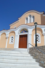 Greek Orthodox church in Kefalos