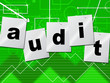Graph Audit Indicates Auditing Infograph And Scrutiny