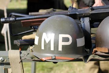 Casque de la Police Militaire