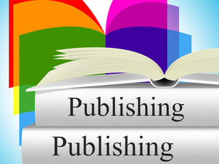 Books Publishing Shows Editor Media And Non-Fiction