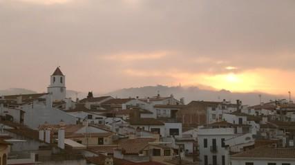 Mediterranean Fishing Village at Dawn
