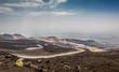 Etna volcano landscape
