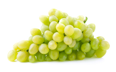 Bunch of ripe grapes.