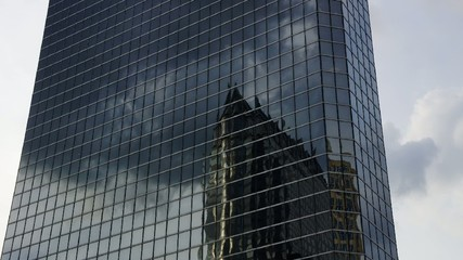 Reflections in office bulding
