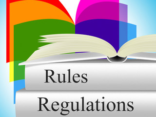 Regulations Rules Shows Regulate Guidelines And Guideline