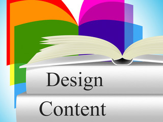 Designs Content Represents Concept Model And Plan