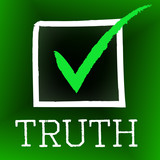 Truth Tick Indicates No Lie And Accuracy poster