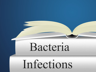 Bacteria Infection Shows Health Care And Virus