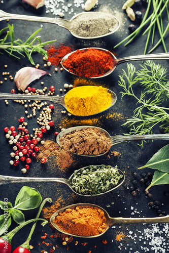 Herbs and spices selection - 70202463