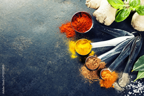 Herbs and spices selection - 70202605