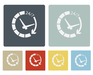 Time Icon Symbol Vector