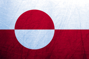 Ice Flag of Greenland
