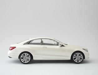White Luxury Sports Coupe