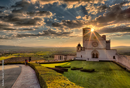 Basilica of St.Francis in Assisi - 70204466