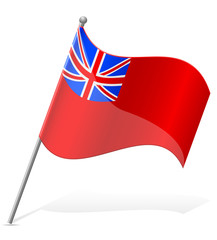 flag of Bermuda Island vector illustration
