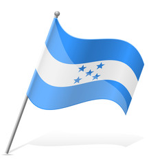 flag of Honduras vector illustration