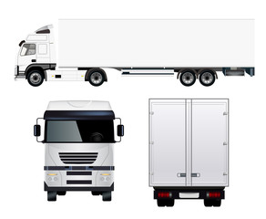 Commercial Semi Truck