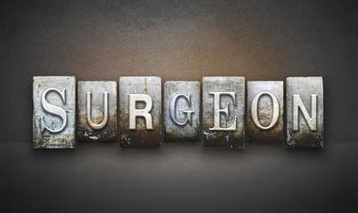 Surgeon Letterpress