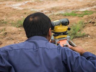 Surveying measuring equipment level theodolite