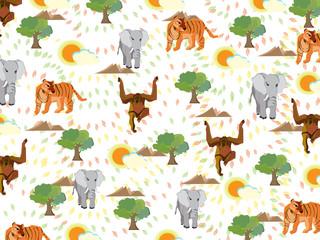Wildlife animal pattern texture
