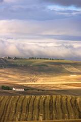 Tra Puglia e Basilicata:paesaggio agreste autunnale.ITALIA