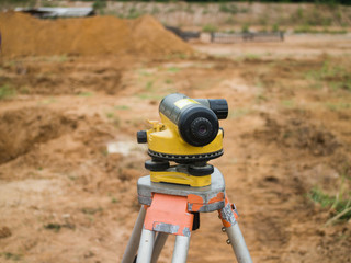 Surveying measuring equipment level theodolite