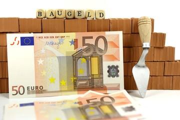 Baugeld für Hauskauf
